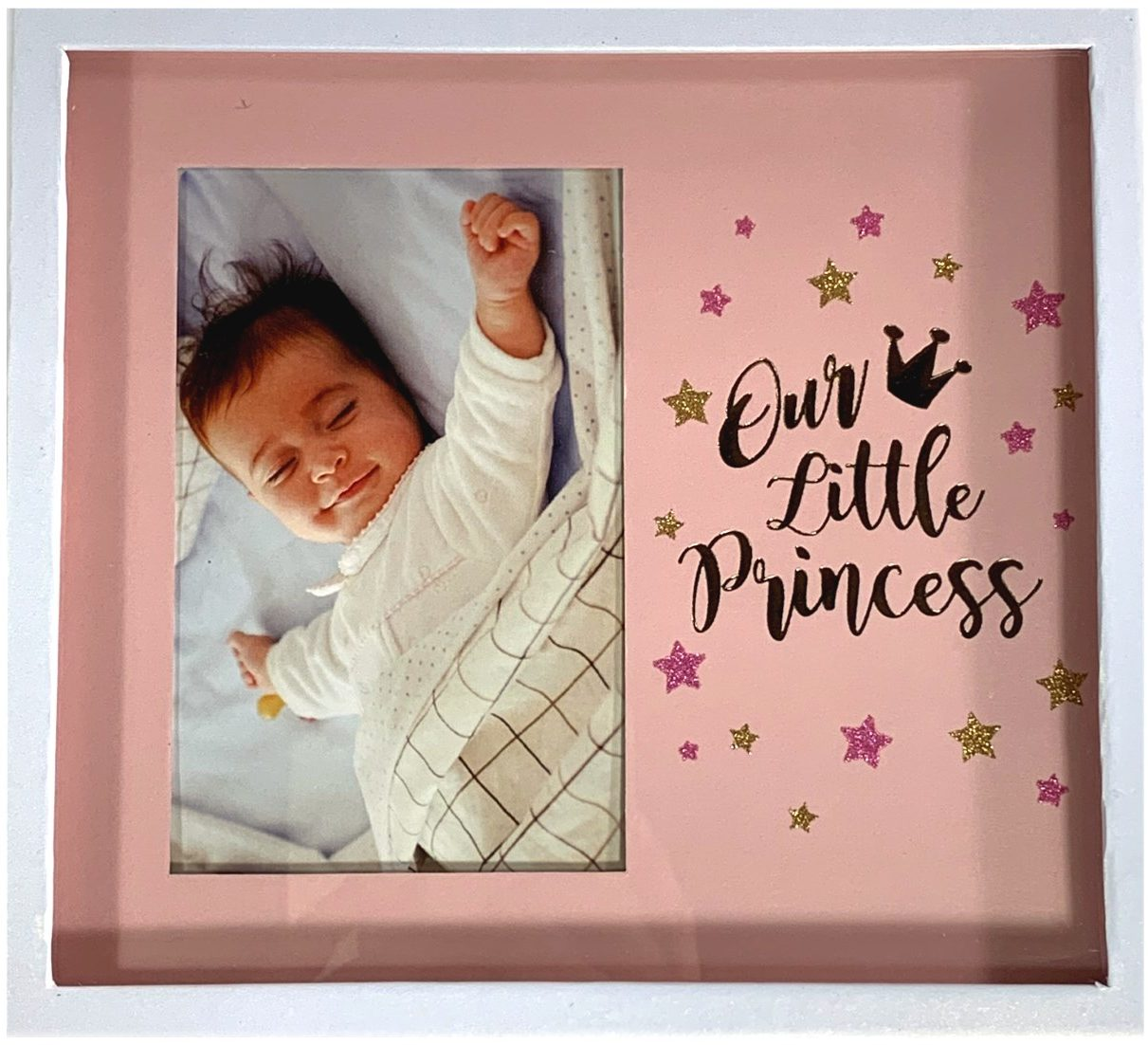 Boxed Gift for Girl Christening Angel Photograph Frame for 6 x 4 Photo